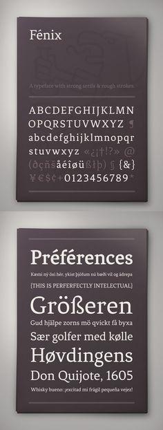 Fénix - Free Font