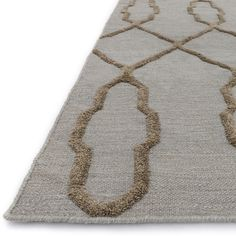 Bring the world of Moroccan design to your home with the Handcrafted Lennon Rug from India. Hand woven of 100-percent wool, Lennon is as durable and strong as it is beautiful. But the best part is its
