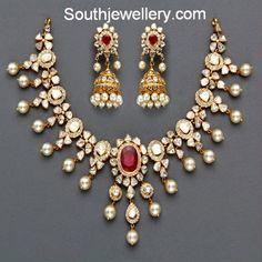 flat diamonds necklace