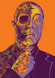 Another Breaking Bad fan art, one of the best moments of the series. Breaking Bad Poster, Breaking Bad Series, Best Series, Tv Series, History Instagram, Breking Bad, Gus Fring, Top Imagem, Ill Miss You