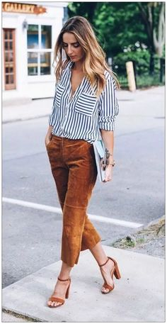 Casual Summer Office Outfits to Show Your Style at Work - Outfit & Fashion Casual Work Attire, Business Casual Outfits, Classy Outfits, Business Attire, Chic Outfits, Office Outfits Women Casual, Ladies Outfits, Business Chic, Black Outfits