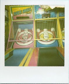 Ski Ball! THE FUNNEST game at the arcade