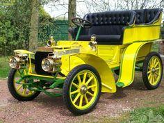 1904 Peugeot 63A Rear Entrance Tonneau