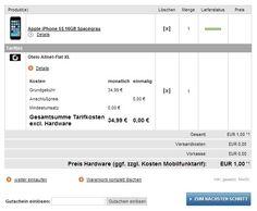 iPhone 5s + AllNet Flat im D-Netz nur 34.99€ mtl - HandyTarifTipp