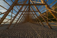 Instalaciones del Festival SALT / Rintala Eggertsson Architects  madera / pabellones