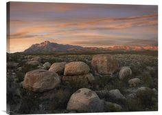 Fine art photo Boulders at Guadalupe Mountains National Park, Texas at www.explosionluck.com