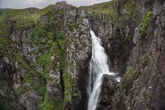 Though not the highest, the Falls of Glomach are perhaps the most magnificent waterfalls in Britain, with a single leap of 113 metres (370 feet). This walk is the easiest and shortest approach.