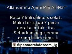 Doa selepas Solat