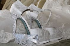 Betsey Johnson Something Blue Wedding Shoes $100 These are a size 7!!!