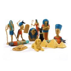 Ancient Egypt Mini-Toys Toob - Little Passports Ancient Egyptian Artifacts, Ancient Egypt History, Subscriptions For Kids, Little Passports, Stem Skills, Curious Kids, Natural Curiosities, Science Kits, Gifts For Nature Lovers