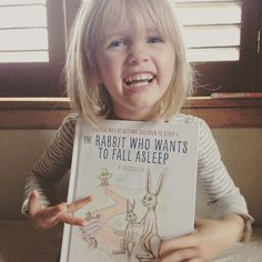The Rabbit Who Wants to Fall Asleep // Book Review of this #1 bestselling book! #BH #ad // neverhomemaker