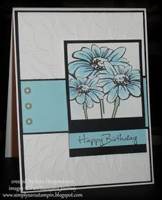 Simply Sara Stampin': Lovely Day ~ A Fun Stampers Journey Card