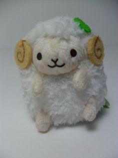 8cm Arpakasso Alpaca Plush Japan AMUSE Cotton Candy Alpacasso Lip Pouch x1