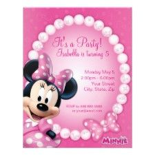 Disney Party Invitations