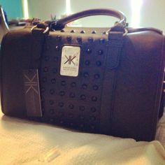 Studded KK Bag Fab Bag, Kardashian Kollection, Cute Bags, Window Shopping, Swagg, Baggage, Handbag Accessories, Purse Wallet, Purses And Handbags