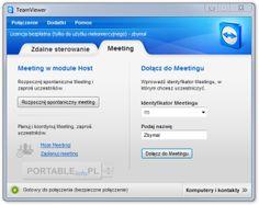 TeamViewer – bardzo przydatna aplikacja służąca do zdalnego kontrolowania systemu poprzez Internet bez konieczności instalacji serwera/klienta na dysku twardym komputera. Umożliwia kompleksowy dostęp do odległych komputerów i serwerów.