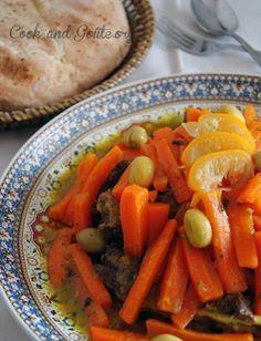 Tajine d'agneau aux carottes