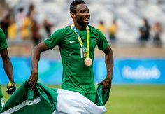 Welcome to sportmasta's Blog.: Chelsea's Mikel proud to lead Nigeria to Olympic…