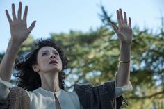 Claire at Craigh na Dun // #OutlanderSeries #Outlander // Pictures from http://www.farfarawaysite.com
