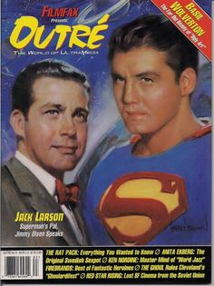 Larry Cohen, Jack Larson, Original Superman, Basil Wolverton, Ancient Astronaut Theory, George Reeves, K Dick, Read Dead, Jimmy Olsen