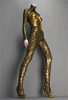 Alexander McQueen: Savage Beauty: Bodysuit, A/W 2007-2008