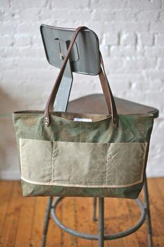 WWII era Camo Tote Bag