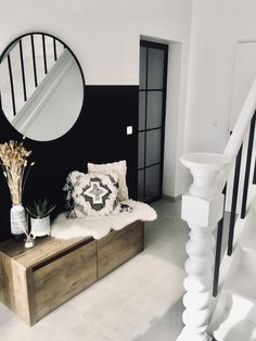 Living Room Interior, Home Living Room, Kitchen Interior, Flur Design, Interior Architecture, Interior Design, House Entrance, Home Fashion, New Homes