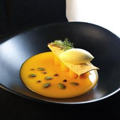 Foodstar Andrea De Santis (@andreadesantys) shared a new image on Foodstarz /// Pumpkin & miso velouté, pickled pumpkin, fennel cracker, apple ice-cream. #pumpkin #miso #veloute #fennel #icecream #foodstarz Foodstarz offers chefs and other food Experts a platform to present their greatest talents and acquire jobs from the industry. If you want to get features on Foodstarz or if you are interested in participating in exciting projects - join us now for free! Foodstarz – Meet the Industry