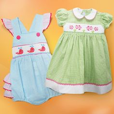 Look at this Summer Smocking Steals on #zulily today!