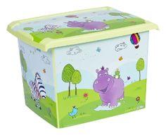 Prima Baby Muovilaatikko Kannella Hippo l - TokNet.