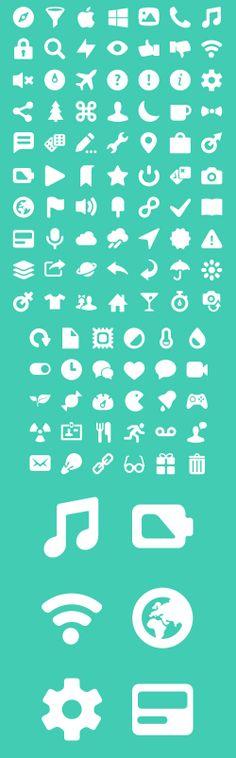 Pixel Perfect Set - otra de iconos planos para web