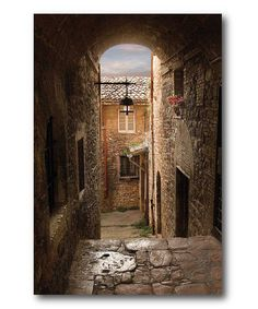 Take a look at this Tuscany Village I Canvas Wall Art on zulily today!