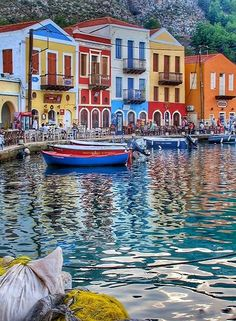 The town of Kastellorizo Island (Dodecanese), Greece | by missgoa