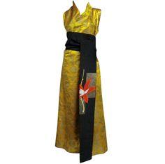 1920s Chinese Jacquard Silk Robe