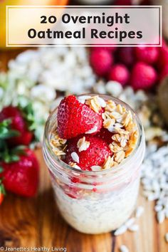 Overnight Oats make a great grab-and-go breakfast. Try making these 20 different combinations of oatmeal for a quick and delicious breakfast you can enjoy on your busy mornings. Add fruit, nuts, and o