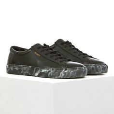 Axel Arigato Axel Arigato, Men's Shoes, High Top Sneakers, Ready To Wear, Street Wear, Black Leather, Louis Vuitton, Mens Fashion, How To Wear
