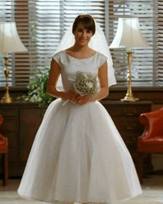 The Top 20 TV Fashion Moments This Season — #Glee: Rachel's Wedding Dress. http://www.instyle.com/instyle/package/general/photos/0,,20164507_20596273_21161472,00.html
