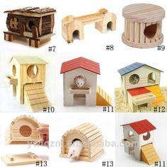 Handmade Wooden Hamster Toys,Wooden Hamster Cage,Hamster Wooden House - Buy Natural Wood Hamster Cage,Wooden Hamster Cage,Luxury Hamster Cage Product on Alibaba.com