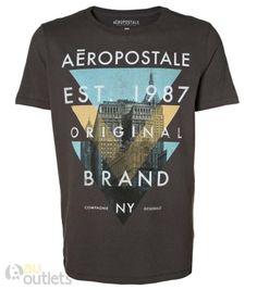 e876e8d1dd Camiseta masculina Aéropostale Old Town 19