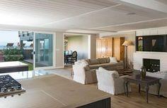 Indoor/Outdoor Living - Leonardo DiCaprio's Malibu Beach House - Lonny
