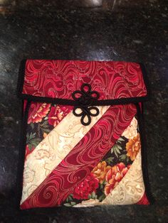 Closed iPad case. See other pin for details.