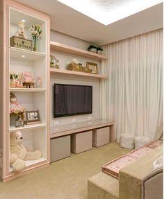 Um quarto delicado e muito fofo! Amei! - Projeto MJ Arquitetura - |Me acompanhe também no @pontodecor e @maisdecor_ -…