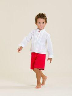 Conjunto niño camisa y pantalón algodón - Marketplace social de tiendas para niños de 0 a 14 años