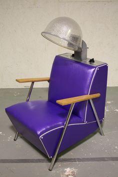 Vintage pink beauty shop dryer chairs | Dryer, Vintage ...