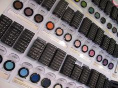 kiko milano eyeshadow display