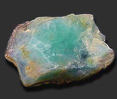 Rough peruvian blue opal
