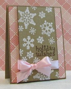Love this color combo and the background paper!