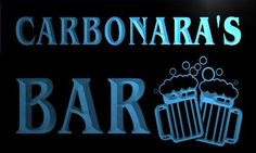 AdvPro Name w040627-b CARBONARA Name Home Bar Pub Beer Mugs Cheers Neon Light Sign Great Gift for your dearest! Excellent for displaying in shops, bars, pubs, clubs, restaurants, game rooms and anywhere you like. With nearly 20 years of experience, ADV (Barcode EAN = 5053709905966) http://www.comparestoreprices.co.uk/january-2017-1/advpro-name-w040627-b-carbonara-name-home-bar-pub-beer-mugs-cheers-neon-light-sign.asp