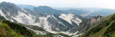 Carrara - Marble quarries