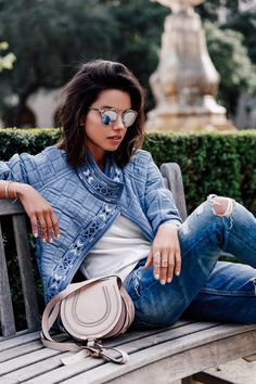 VivaLuxury - Fashion Blog by Annabelle Fleur: GARDEN BLUES